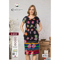 Халат COCOON S-32147 s-xl